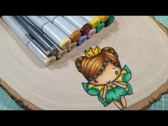 Copic Coloring Hair Series