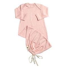 Sleep Gowns - Nurtured By Nature Baby Night Sack - Hush Merino - Coral