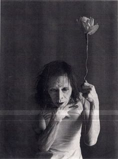 Kazuo Ohno, one of the founders of the Butoh dance movement, (103)