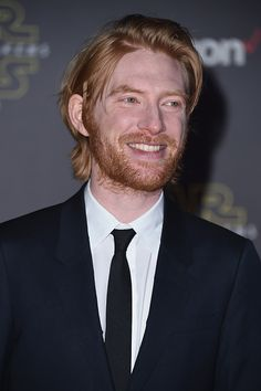 Actor Domhnall Gleeson arrives at the premiere of Walt Disney...