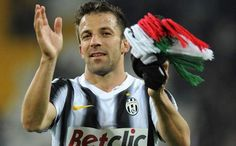 ALESS DEL PIER of FC JUVENTUS. Club Legend! Grazie! We will miss you at Turino