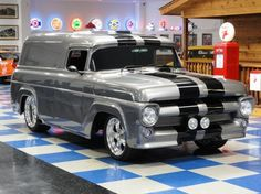 1957 Ford HAULENORE sweet vehicle major paint makes a perfect truck