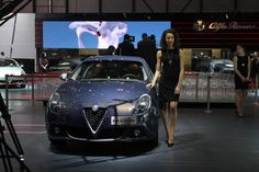 Alfa Romeo Giulietta reveals its new face at Geneva Motor Show