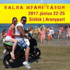 Salsa Nyári Tábor! 2017. Június 22-25.   4 nap, 3 éjszaka az Aranyparton CE Napfény Hotel*** Siófok