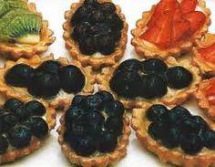 tartellette con vari tipi di frutta facili da fare e ottime da ...gustare!