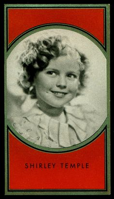 German Cigarette Card - Shirley Temple | Flickr - Photo Sharing!