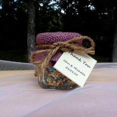 SET OF 24 Purple Lavender Birdseed wedding favor by EcohausProject, $72.00
