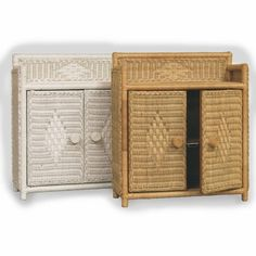 Wicker Medicine Cabinet   Finding Space For Things In A Smaller Bathroom  Just Became A Little
