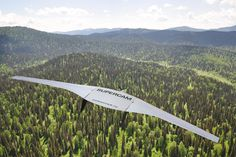 Supercam S350 fixed-wing UAV for aerial surveing