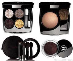 Chanel представили рождественскую коллекцию косметики Rouge Noir Absolument Holiday- popcornnews