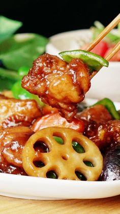 Pork Recipes, Asian Recipes, Chicken Recipes, Cooking Recipes, Japenese Food, Easy Japanese Recipes, K Food, Restaurant Dishes, Cafe Food