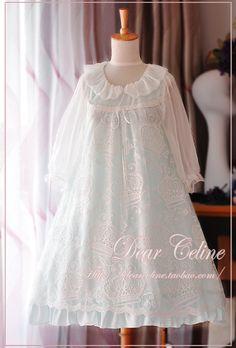 Dear Celine Cotton Crown Random Embroidery Doll OP