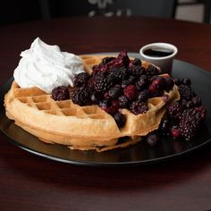 It's Sunday so you know what that means?  ALL YOU CAN EAT WAFFLES WITH BOTTOMLESS COFFEE ALL DAY!  All for $10.00  See you for breakfast, lunch....and…dinner? #nojudgement