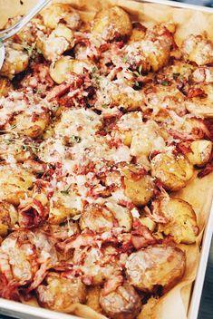 Potato Recipes, Pork Recipes, Lunch Recipes, Seafood Recipes, Cooking Recipes, Healthy Recipes, Pan Relleno, 30 Min Meals, Zeina