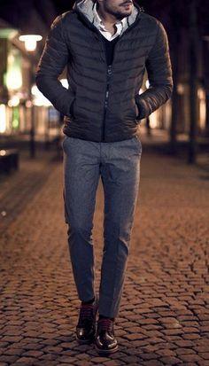 Nice trousers.