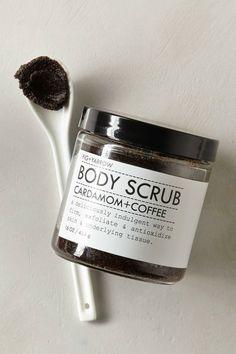 Cardamom & Coffee Body Scrub