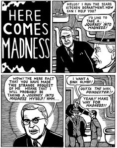 Here Comes Madness.png   by Michael Kupperman