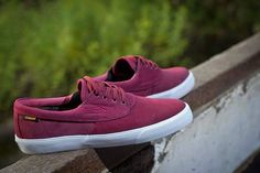 Lakai Camby Oxblood Shoes