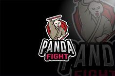 Panda Fight Esport Logo Template by IanMikraz on Envato Elements Envato Elements, Kids Bike, Logo Templates, Panda, Hero, Cartoon, Logos, Fictional Characters, Engineer Cartoon