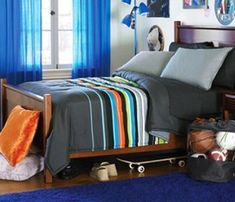 bedroom sets for boys on Teen Boys Bedding Sets Teen Bedding World Teen Boy Bedding Sets, Boys Bedroom Sets, Bedroom Decor For Teen Girls, Teen Girl Bedrooms, Kids Bedroom, Bedroom Ideas, Teenage Room, Man Room, Luxurious Bedrooms