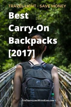Best carry-on backpa