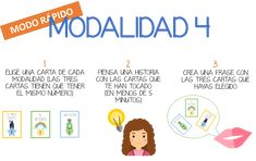 Juego de cartas para contar historias en español - ELE Internacional Word Search, Spanish, Homeschool, Family Guy, English, Words, Character, Ideas, To Tell