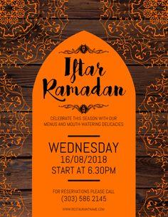 Ramadan iftar dinner poster design click to customize ramadan copy of iftar ramadan flyer stopboris Gallery