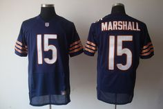 Nike NFL Jerseys Denver Broncos Brandon Marshall #15 Blue  http://www.wholesalereplicajersey.com/   wholesale replica jersey