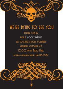 Tasty Halloween invite | halloween | Pinterest | Design ...