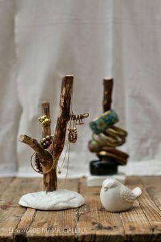 árbol porta joyas