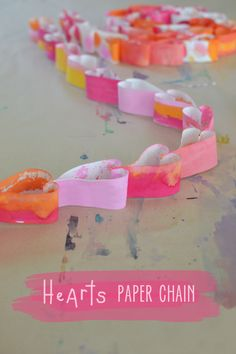 Hearts Paper Chain