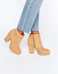 ASOS   ASOS EDISON Heeled Ankle Boots
