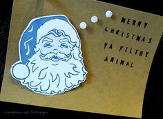 Screwdrivers and Stethoscopes DIY Christmas Cards