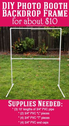 Image result for build a display booth with pvc