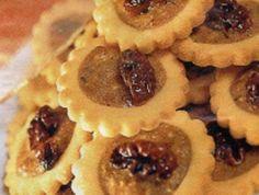 Koláčky s ořechovou náplní