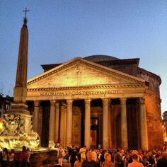 If you don't visit the Pantheon, you've wasted a trip to Rome.
