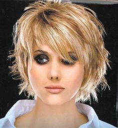 So you can try different hair colors on your hairstyle to get the unique and trendy look. Here are few best hair color ideas for short hair. Medium Hair Styles, Curly Hair Styles, Short Hair Cuts For Women, Cool Hair Color, Layered Hair, Great Hair, Hair Today, Fine Hair, Hair Dos