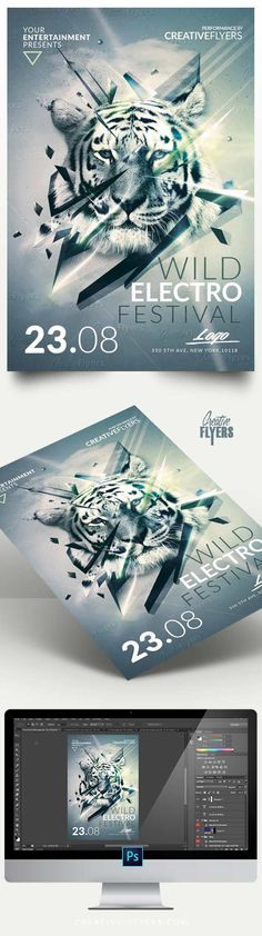 Create an eye-catching flyer fast ! Minimalist Flyer Design, Template 100% editable. PSD Flyer Templates Available #flyer #design #minimalist #festival #poster #posterdesign #creative #flyers #creativeflyers