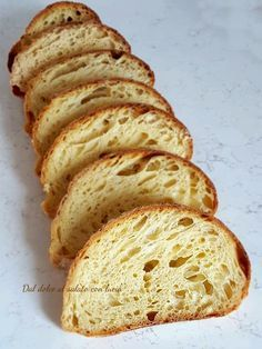 Focaccia Pizza, Snacks, Sourdough Bread, Bread Recipes, Dolce, Banana Bread, Good Food, Food And Drink, Easy Meals