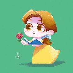 Baby Disney Characters, Disney Princess Cartoons, Disney Princess Drawings, Disney Cartoons, Disney Fan Art, Arte Disney, Chibi Disney, Kawaii Disney, Cute Disney Drawings