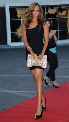 Hollywood Actress Tyra Banks ...  Hmmm!! Tasty...