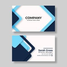 Elegant business card template with geometric design Vector Free Business Card Design, Make Business Cards, Beauty Business Cards, Double Sided Business Cards, Free Business Card Templates, Elegant Business Cards, Professional Business Cards, Visiting Card Design, Bussiness Card
