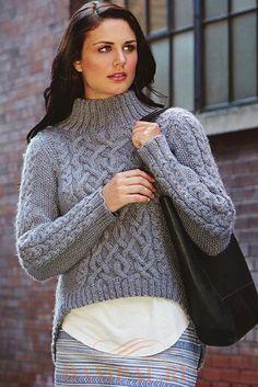 d8f30f5711e73 Aran free sweater knitting patterns with turtlenecks