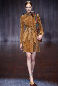Gucci trench - worn by Charlotte Casiraghi