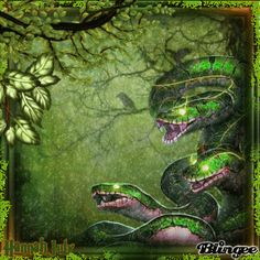 {{{Vipers of the Night}}} Snake Gif, Night Pictures, Viper, Photo Editor, Animation, Painting, Design, Art, Art Background