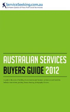 Australian Services Buyers Guide 2012