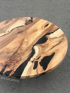 Walnut Slab, Wood Slab, Epoxy Resin Table, Small Tables, Loft, Design Inspiration, Wood Tables, Coffee, Metal