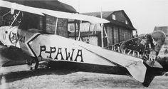 Albartos B II (P-PAWA) pil. Pawła Zołotowa, pierwszy prywatny samolot w Polsce