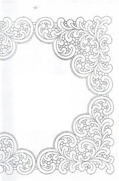 PUEDE TRABAJARSE EN TECNICA DE ENCAJE A LA AGUJA.  BANDKANT - Sylvie Harmand - Álbumes web de Picasa