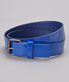 Take a look at this Blue Belt by Delightfully Preppy Kids on #zulily today!